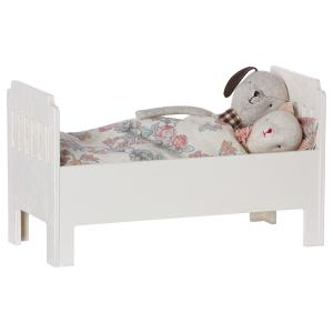 Maileg - 11-6032-00 - Bed, Small, Off white (390880)
