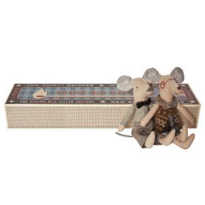 Maileg - 16-6791-00 - Mice, Grandpa & Grandma in Matchbox (391704)