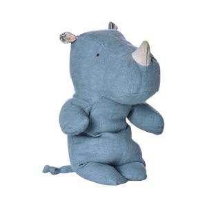 Maileg - 16-6922-00 - Safari friends, Rhino Blue, Small (391714)
