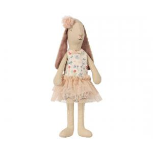 Maileg - 16-8125-01 - Mini light bunny, Flower suit - Rose (391904)