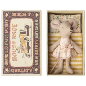 Maileg - 16-8724-01 - Little sister mouse in box (391940)