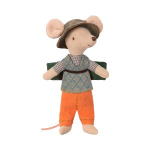 Maileg - 16-8738-00 - Hiking mouse, Big brother (391962)