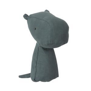 Maileg - 16-8912-00 - Noah's Friends, Hippo Rattle - Taille 12 cm - de 0 à 36 mois (392004)