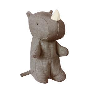 Maileg - 16-8951-00 - Noah's Friends, Rhino Mini - Taille 12 cm - de 0 à 36 mois (392054)