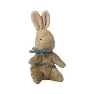 Maileg - 16-8992-02 - Baby Bunny w. blue ribbon (392108)