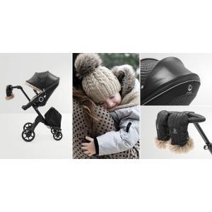 Stokke - 531101 - Kit Habillage hiver XPLORY® V6 Noir onyx (392540)