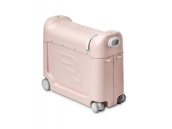 Valise à roulettes bedbox® 2.0 de jetkids™ by stokke (avec matelas de voyage) rose limonade