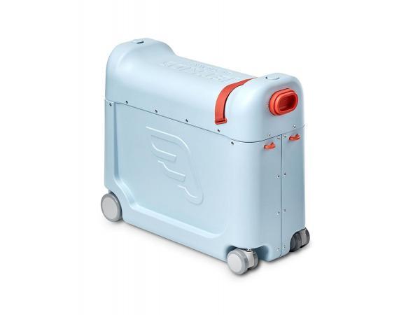 Valise à roulettes ridebox™ 2.0 de jetkids™ by stokke bleu ciel