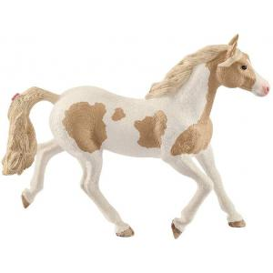 Schleich - 13884 - Figurine Jument Paint Horse - Dimension : 13,8 cm x 3,7 cm x 10,8 cm (392648)