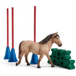 Schleich - 42483 - Slalom pour poney (392782)