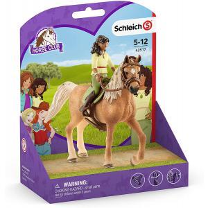 Schleich - 42517 - Figurine Horse Club Sarah et Mystery (392816)