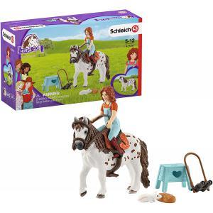 Schleich - 42518 - Figurine Horse Club Mia et Spotty (392818)