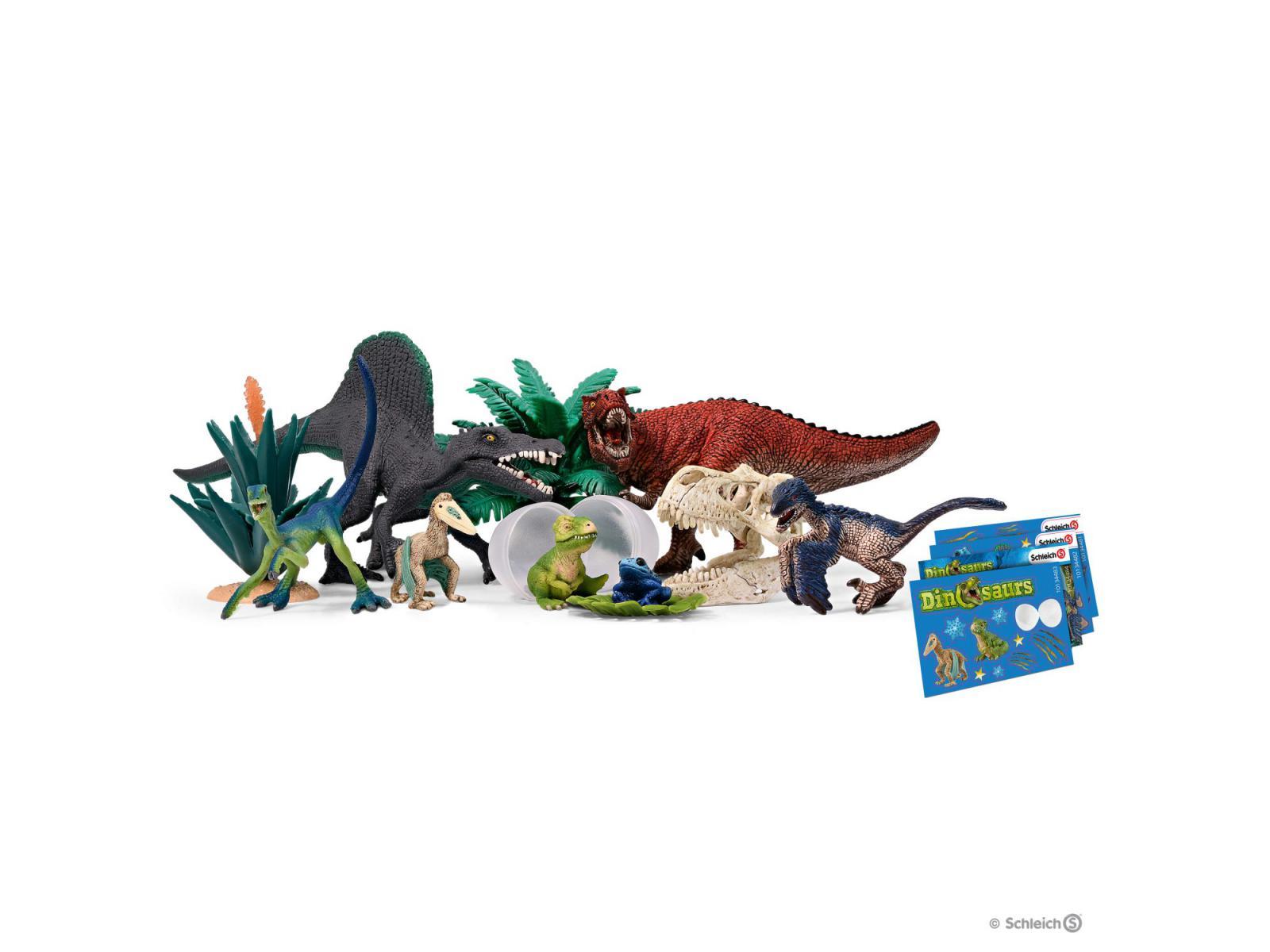 Calendrier De Lavent Schleich Chevaux 2019.Schleich Calendrier De L Avent Dinosaures 2019