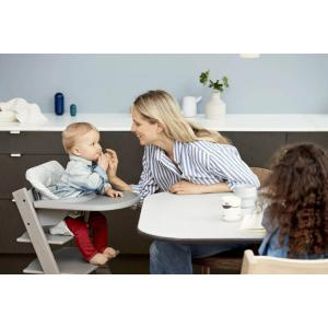 Stokke - BU130 - Pack chaise TRIPP TRAPP Blanc avec Baby Set et tablette (392880)