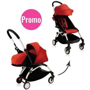 Babyzen - BU098 - Promo poussette YOYO+ complète rouge (pack naissance 2016) (392920)