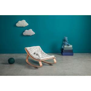 Charlie crane - LEVOCLOUD4 - Transat LEVO hêtre clair, coussin Moumout' Cloud (393050)