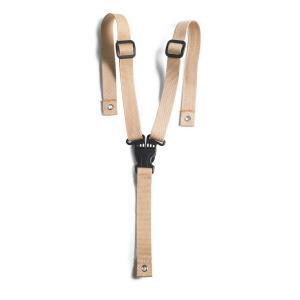 Charlie crane - TIBUGUARD - Garde-corps bois hêtre naturel TIBU, entre-jambe cuir et harnais 3 points (393098)