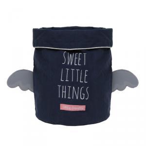 Little Crevette - SWVPb - Panier de rangement bleu Sweet Dreams (393192)