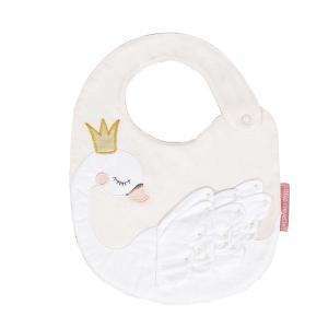 Little Crevette - WABA - Bavoir Princesse Swan (393216)