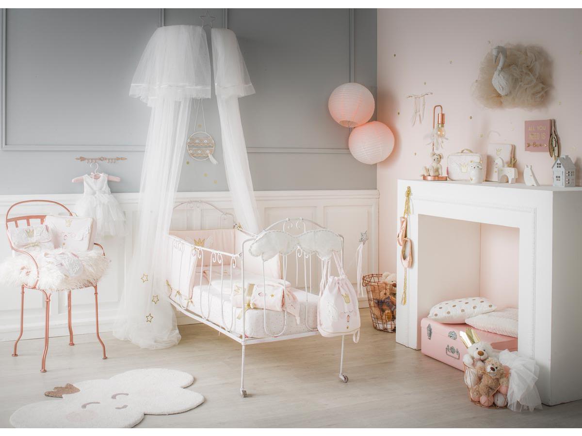 Little crevette tour de lit princesse swan - Tour de lit princesse disney ...