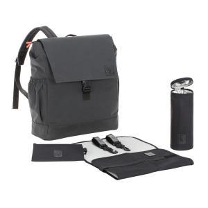 Lassig - 1103004005 - Sac à dos réfléchissant noir Little One et Me - grand modèle (393762)