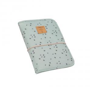Lassig - 1106008556 - Pochette de change Floral menthe (393818)