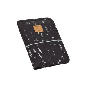 Lassig - 1106008018 - Pochette de change Plumes noir (393824)