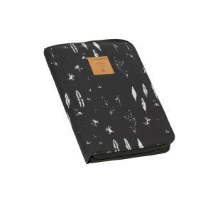 Lassig - 1106010018 - Pochette carnet de santé Plumes noir (393832)
