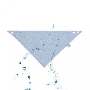 Lassig - 1311003405 - Bandana chiné bleu (393996)