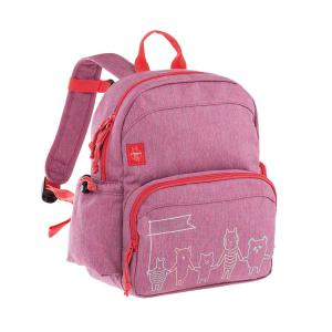 Lassig - 1203002724 - Medium sac à dos About Friends chiné rose (394536)