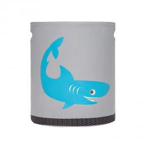 Lassig - 1541005427 - Panier à jouets Requin (394732)