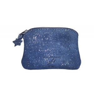 La Cartablière - NPKPLBA - Mini Porte Monnaie Kiwi - Bleu Lapis (394806)