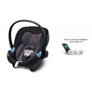 Cybex - 519001783 - Siège auto Aton M i-Size avec SensorSafe Premium Black-noir (394874)