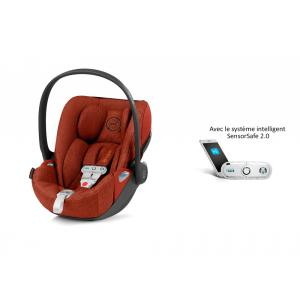 Cybex - 519002987 - Siège auto Cloud Z i-Size Plus avec SensorSafe Autumn Gold-orange (394984)