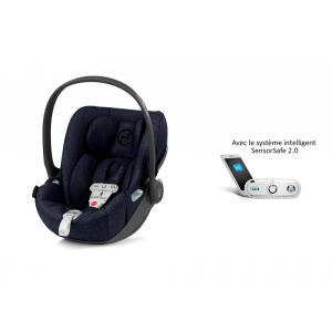Cybex - 519001605 - Siège auto Cloud Z i-Size Plus avec SensorSafe Midnight Blue-bleu marine (394988)