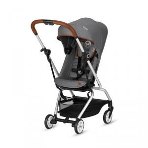 Cybex - 519001531 - Poussette Eezy S Twist Denim Manhattan Grey-gris (395050)