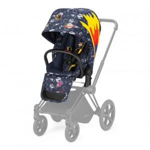 Cybex - 519002087 - Habillage de siège Priam Anna K Space Rocket-navy blue (395348)