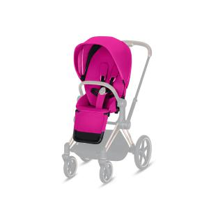 Cybex - 519002327 - Habillage de siège Priam Fancy Pink-violet (395360)