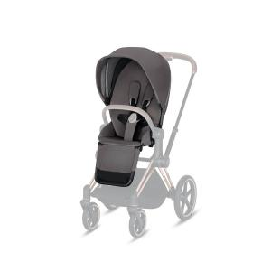 Cybex - 519002321 - Habillage de siège Priam Manhattan Grey-gris (395364)