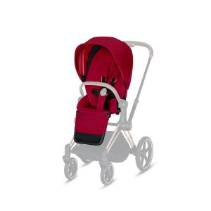Cybex - 519002325 - Habillage de siège Priam True Red-rouge (395368)