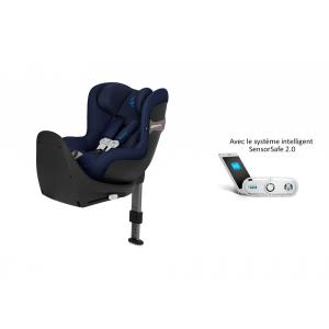 Cybex - 519001859 - Siège auto Sirona S i-Size avec SensorSafe Indigo Blue-marine (395500)