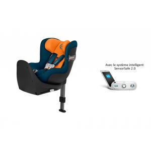 Cybex - 519001861 - Siège auto Sirona S i-Size avec SensorSafe Tropical Blue-bleu marine (395506)