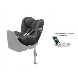 Cybex - 519001673 - Siège auto Sirona Z i-Size avec SensorSafe Manhattan Grey-gris (395512)