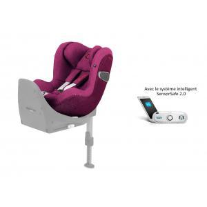 Cybex - 519003025 - Siège auto Sirona Z i-Size Plus avec SensorSafe Passion Pink-rose (395526)