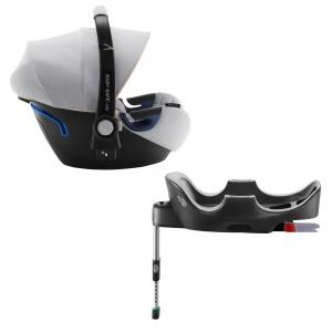 Britax Roemer - 2000029118 - Pack siège-auto naissance Brtiax BABY-SAFE² i-Size avec BASE FLEX Nordic Grey (397054)