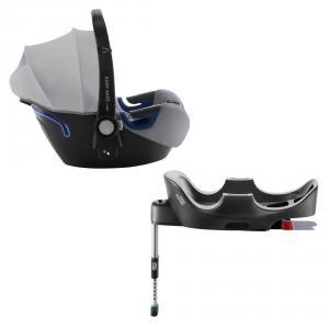 Britax Roemer - 2000030757 - Pack siège-auto bébé BABY-SAFE² i-Size avec BASE FLEX Grey Marble (397062)