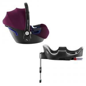 Britax Roemer - 2000030755 - Pack siège-auto naissance BABY-SAFE² i-Size et BASE FLEX Burgundy Red (397078)
