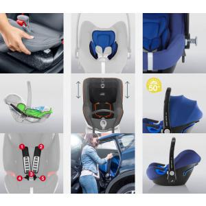 Britax Roemer - 2000029705 - Pack siège-auto BABY-SAFE² i-Size avec BASE FLEX Cosmos Black (397080)