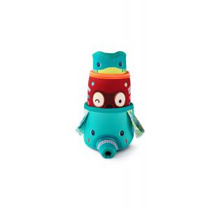 Lilliputiens - 83091 - 3 gobelets de bain Jungle (397928)