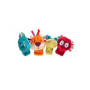 Lilliputiens - 83105 - Jungle Marionnettes à doigts (397956)